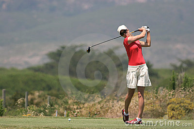 Anna Rawson, Portugal ladies Open 2006, Oitavos Editorial Stock Image