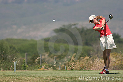 Anna Rawson, Portugal ladies Open 2006, Oitavos Editorial Photography