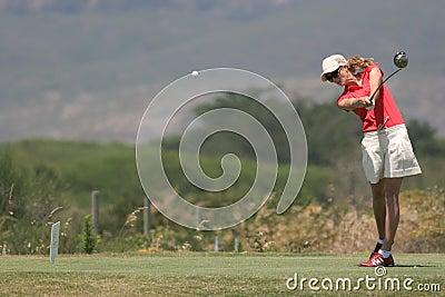 Anna Rawson, Portugal ladies Open 2006, Oitavos Editorial Photography