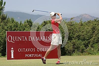 Anna Rawson, Portugal ladies Open 2006, Oitavos Editorial Stock Image