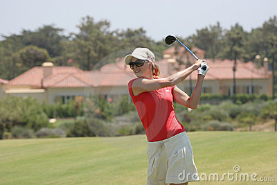 Anna Rawson, Portugal ladies Open 2007, Oitavos Editorial Photography