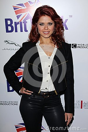 Anna Trebunskaya at the Official Launch of BritWeek, Private Location, Los Angeles, CA 04-24-12 Editorial Stock Image