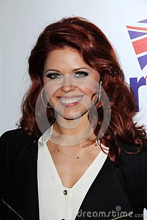 Anna Trebunskaya at the Official Launch of BritWeek, Private Location, Los Angeles, CA 04-24-12 Editorial Stock Photo