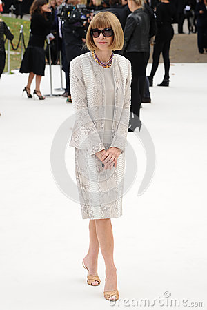 Free Anna Wintour Stock Photography - 27213762