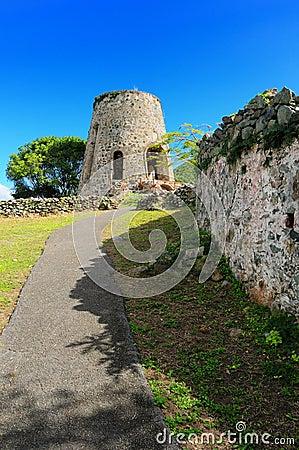 Free Annaberg Plantation Windmill Stock Image - 4211421