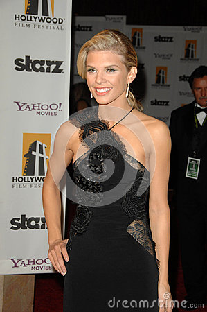 Annalynne McCord at the 13th Annual Hollywood Awards Gala. Beverly Hills Hotel, Beverly Hills, CA. 10-26-09 Editorial Photo