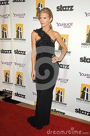 Annalynne McCord at the 13th Annual Hollywood Awards Gala. Beverly Hills Hotel, Beverly Hills, CA. 10-26-09 Editorial Image