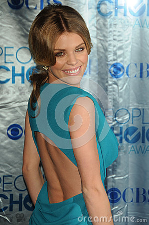 AnnaLynne McCord at the 2011 People s Choice Awards - Arrivals, Nokia Theatre, Los Angeles, CA. 01-05-11 Editorial Photo