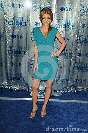 AnnaLynne McCord at the 2011 People s Choice Awards - Arrivals, Nokia Theatre, Los Angeles, CA. 01-05-11 Editorial Photography