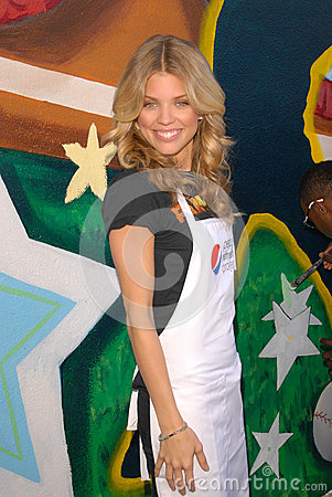 AnnaLynne McCord at the Pepsi Refresh Project at MLB All-Star 2010, El Salvadior Community Center, Santa Ana, CA. 07-13-10 Editorial Image