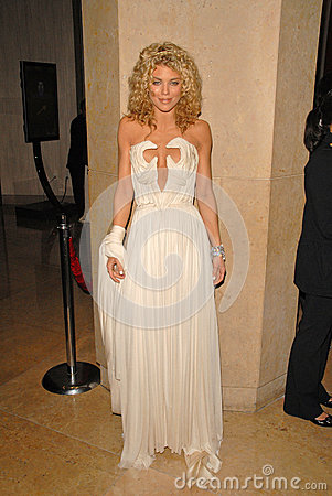AnnaLynne McCord at The Weinstein Company 2010 Golden Globes After Party, Beverly Hilton Hotel, Beverly Hills, CA. 01-17-10 Editorial Stock Image