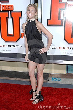 AnnaLynne McCord at the World Premiere of  Fired Up! . Pacific Theaters Culver Stadium 12, Culver City, CA. 02-19-09 Editorial Stock Photo