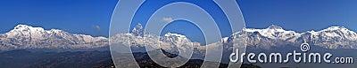 Annapurna range: Panorama