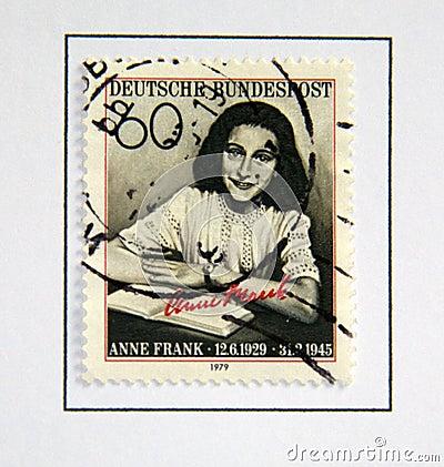 Free Anne Frank. Stock Photo - 15908790
