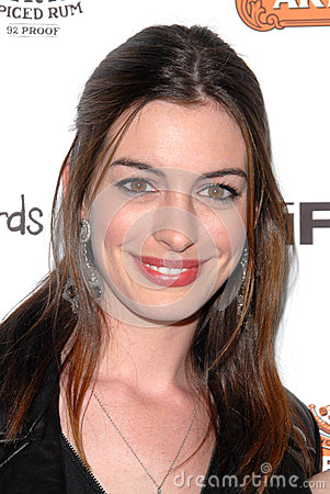 Anne Hathaway Editorial Image