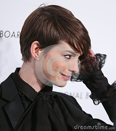 Anne Hathaway Editorial Stock Image