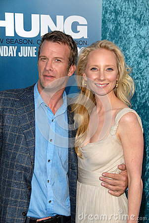 Anne Heche,Thomas Jane Editorial Photography