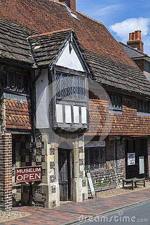 Free Anne Of Cleves House In Lewes Royalty Free Stock Images - 93895499