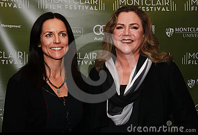Anne Renton and Kathleen Turner Editorial Photo