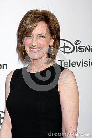 Anne Sweeney arrives at the ABC / Disney International Upfronts Editorial Stock Photo