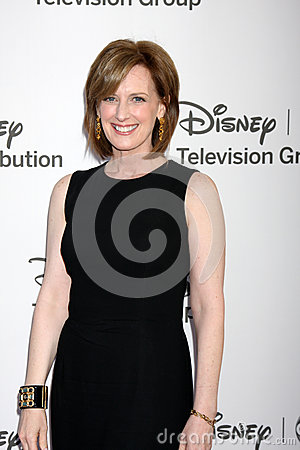 Anne Sweeney arrives at the ABC / Disney International Upfronts Editorial Photography