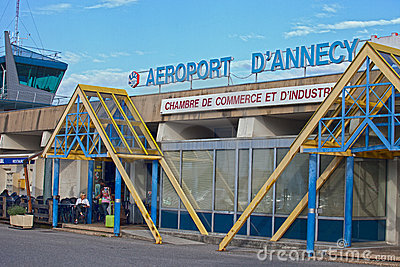 Annecy Airport Editorial Image