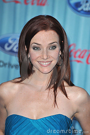 Annie Wersching Editorial Photo