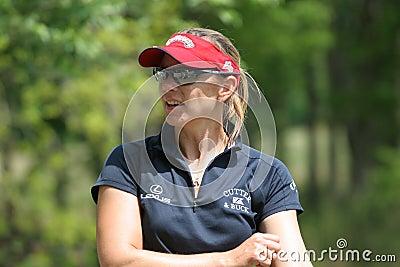 Annika Sorenstam LPGA golf Tour, Stockbridge, 2006 Editorial Photography