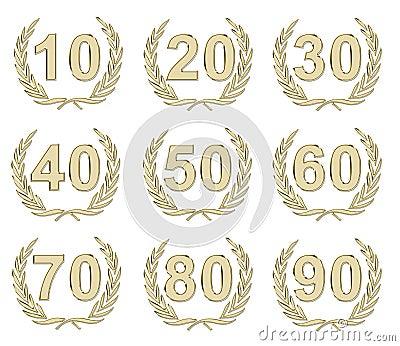 Anniversary Gold