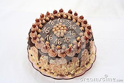 Anniversary s chocolate cake