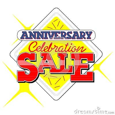Anniversary Sale Heading