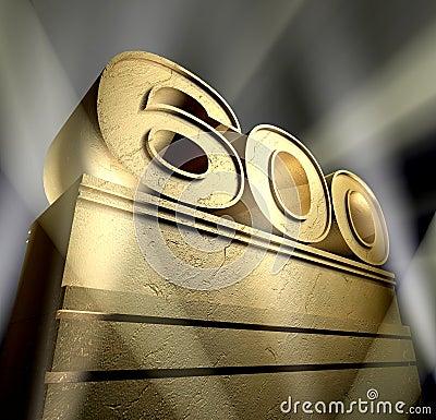 Anniversary six hundred