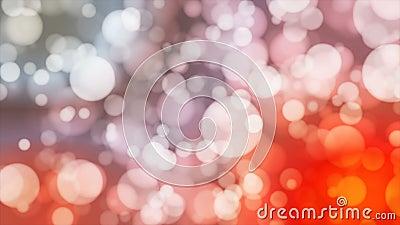 Annoncez Bokeh léger, couleur multi, événements, Loopable, 4K clips vidéos