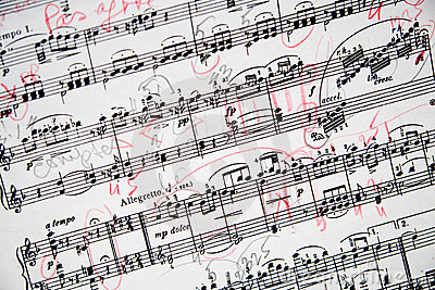 Annotated Musical Sheet