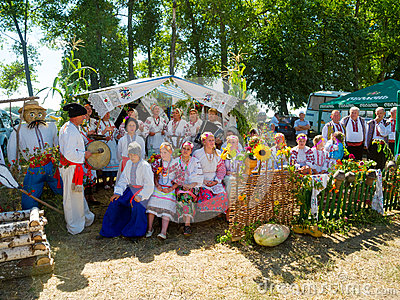 Annual agro exhibition SUMY-2013 Editorial Image