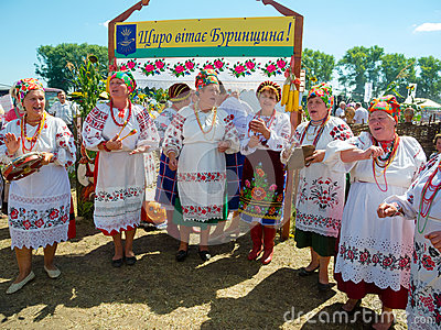 Annual agro exhibition SUMY-2013 Editorial Stock Photo