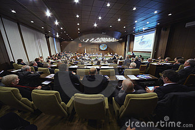 Annual Forum of Helicopter Industry Association Editorial Stock Photo
