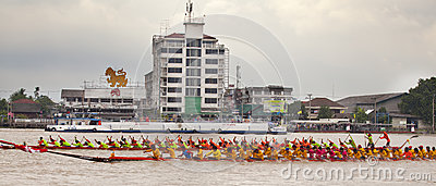 The annual longboat races Editorial Image
