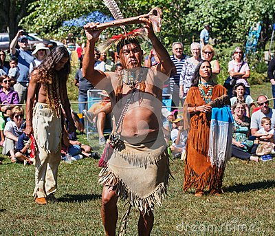 Annual Virginia Indian Festival Editorial Photography