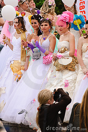 Free Annual Wedding Parade Stock Image - 19523651