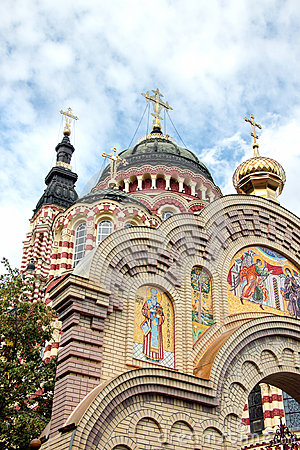 Free Annunciation Cathedral In Kharkiv, Ukraine Royalty Free Stock Images - 31675629