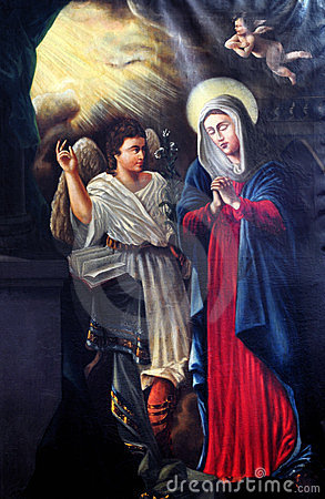 Free Annunciation Of The Virgin Mary Stock Image - 23364161