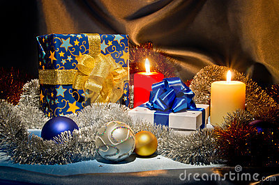 Ano novo, do Natal vida ainda