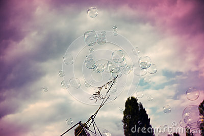 Bubbles and Sky