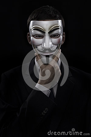 anonymous man suit - photo #31