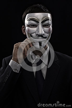 anonymous man suit - photo #25