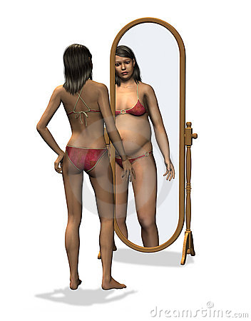 Anorexia -Distorted Body Image