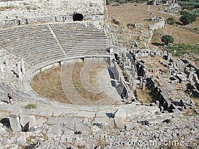 Anphitheatre in Anatolia