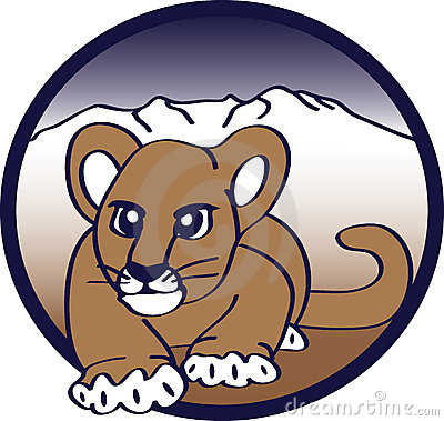 Anpirschendes Puma