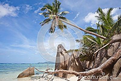 Anse Source d Argent, La Digue, Seychelles